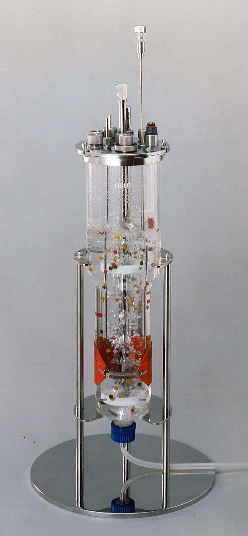 Air-Lift type fermentor