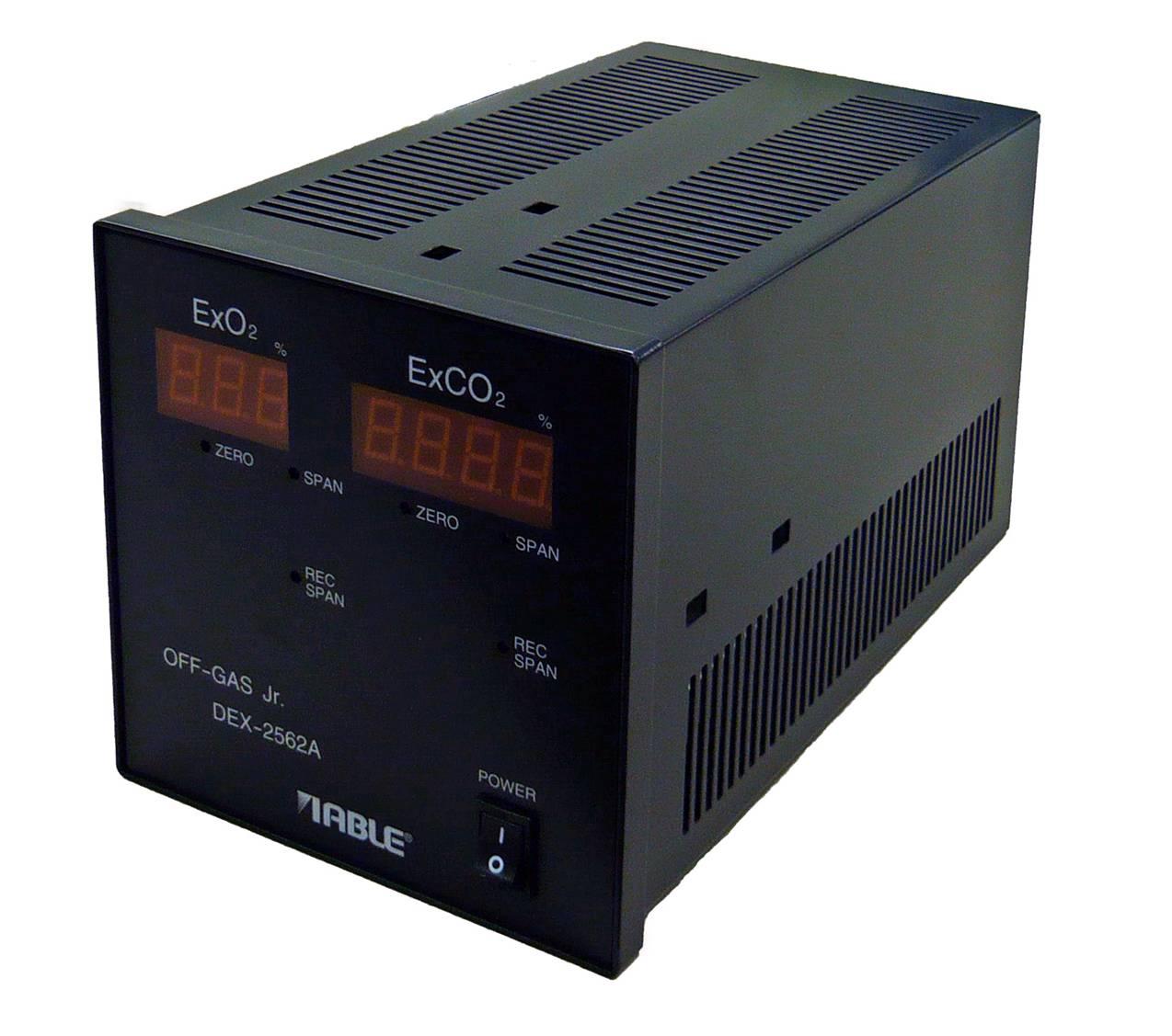 O2/CO2 Analyzer DEX-2562A (OFF-GAS Jr.)