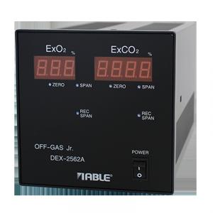 "O2/CO2 Analyzer DEX-2562A ""OFF-GAS Jr."""