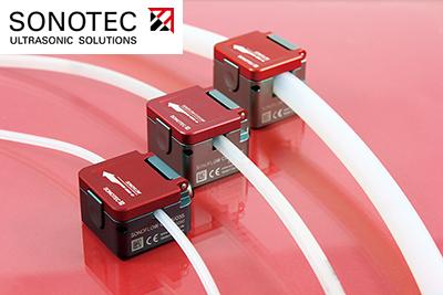 SONOFLOW Clamp-on Sensor (SONOTEC)