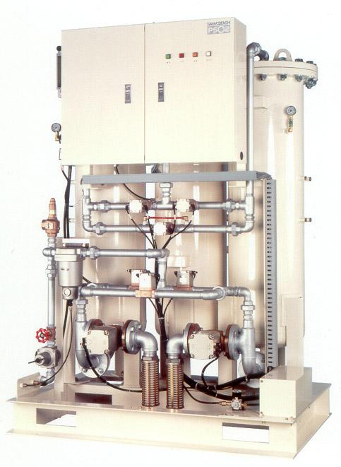 PSA方式による酸素発生装置