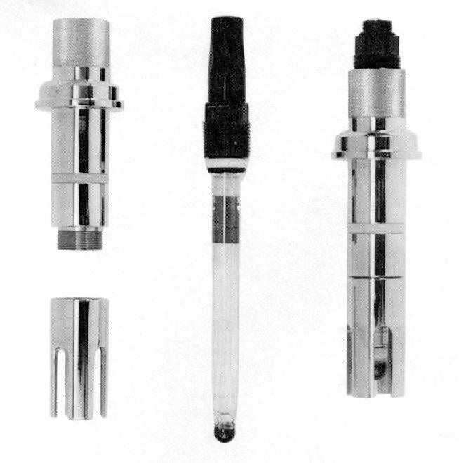 密閉型pH・ORP電極(米国Broadley-James社製)
